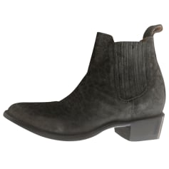 Bottines & low boots plates Mexicana  pas cher