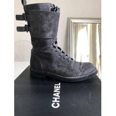 Flache Stiefeletten Chanel