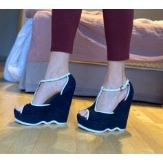 Wedge Sandals Yves Saint Laurent