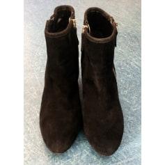 Bottines & low boots à talons Mango  pas cher