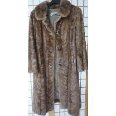 Manteau en fourrure Au Tigre Royal  pas cher