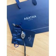 Montre au poignet Agatha  pas cher