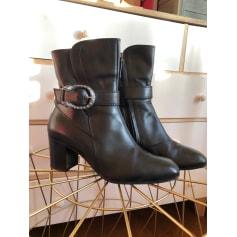 Bottines & low boots à talons Gucci  pas cher