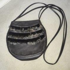 Sac en bandoulière en cuir Longchamp  pas cher