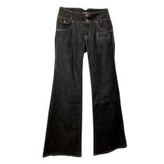 Jeans très evasé, patte d'éléphant Kenzo  pas cher