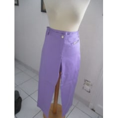Pantalon droit Chiara D'este  pas cher