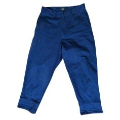 Pantalon carotte Yohji Yamamoto  pas cher