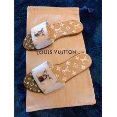 Sandales plates  Louis Vuitton  pas cher