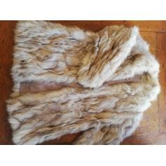 Manteau en fourrure Zimbler  pas cher