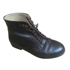 Bottines & low boots plates APC  pas cher