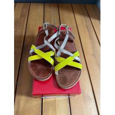 Sandales plates  L'atelier Tropezien  pas cher