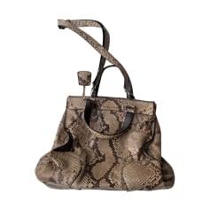 Leather Oversize Bag Céline