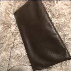 Sac pochette en cuir Vintage  pas cher