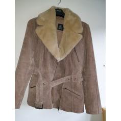 Manteau en cuir Burton  pas cher