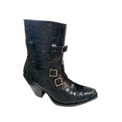 Cowboy Ankle Boots Céline