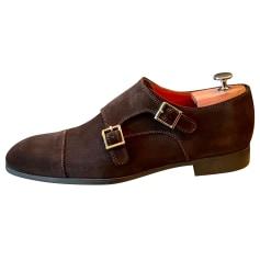 Chaussures à boucles Santoni  pas cher