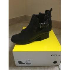 Bottines & low boots plates Eram  pas cher