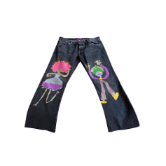 Pantalon large Louise Della  pas cher