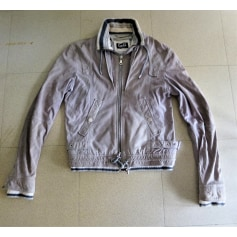 Blouson en cuir Dolce & Gabbana  pas cher