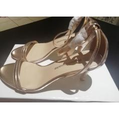 Sandales à talons Blancheporte  pas cher