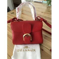 Leather Handbag Delvaux