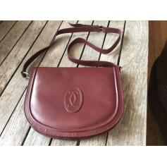 Schultertasche Leder Vintage