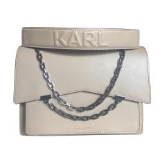Schultertasche Leder Karl Lagerfeld