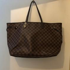 Sac XL en cuir Louis Vuitton Neverfull pas cher