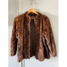 Manteau en fourrure Jama Fourrures  pas cher