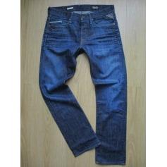 Jeans droit Replay  pas cher