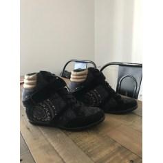 Bottines & low boots à compensés Desigual  pas cher