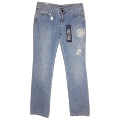Jeans large, boyfriend Jean Paul Gaultier  pas cher