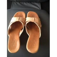 Sandales compensées By Pass  pas cher
