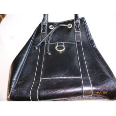 Leather Handbag Lancel French Flair