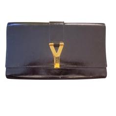 Sac pochette en cuir Yves Saint Laurent  pas cher