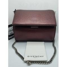 Sac pochette en cuir Givenchy Pandora Box pas cher