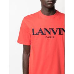 Tee-shirt Lanvin  pas cher