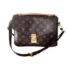 Sac en bandoulière en cuir Louis Vuitton Metis pas cher