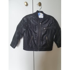 Leather Zipped Jacket H&M