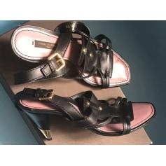 Escarpins à bouts ouverts Louis Vuitton  pas cher