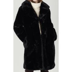 Manteau en fourrure Comptoir Des Cotonniers  pas cher