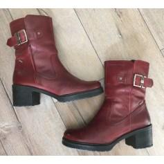 Bottines & low boots à talons MTNG  pas cher