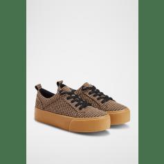 Chaussures à lacets  Bershka  pas cher