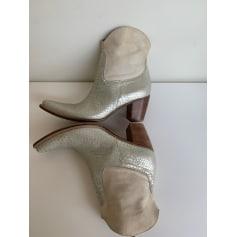 Santiags, bottines, low boots cowboy Vero Cuoio  pas cher