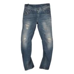 Pantalon slim G-Star  pas cher