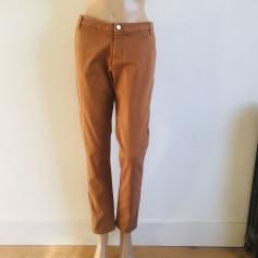 Pantalon carotte Ikks  pas cher