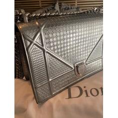 Sac à main en cuir Dior Diorama pas cher