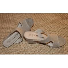 Sandales compensées Via Donna  pas cher