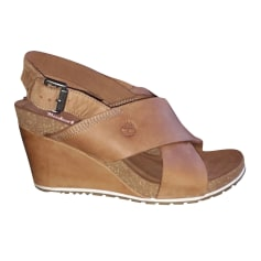 Plateausandalette Timberland
