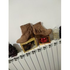 Santiags, bottines, low boots cowboy Claudia Ghizzani  pas cher